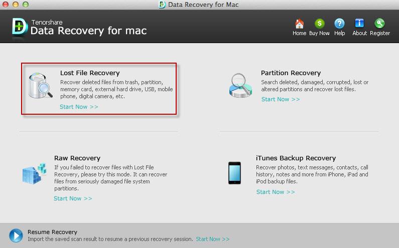 recover data mac