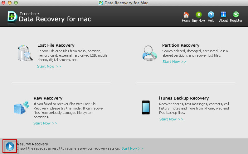 recover data on mac