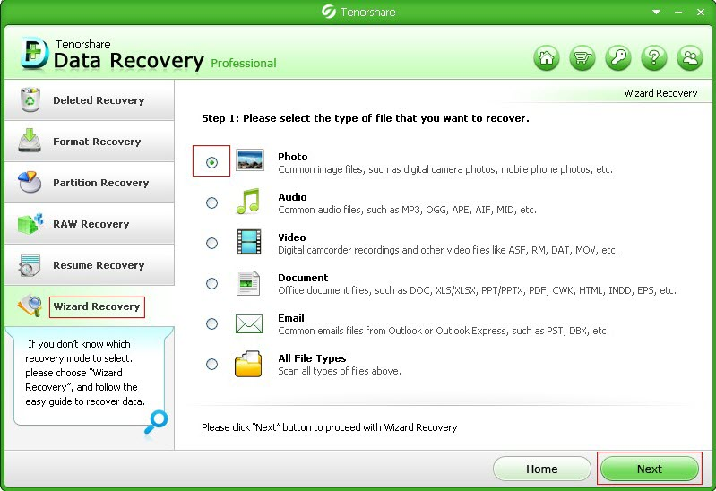 data restore