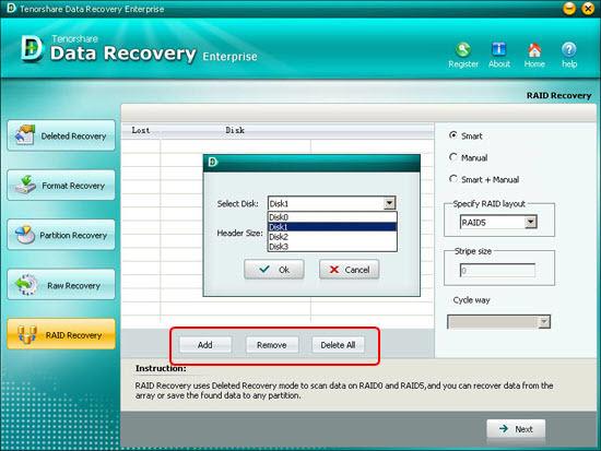 raid files recovery