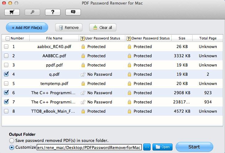 unlock pdf mac