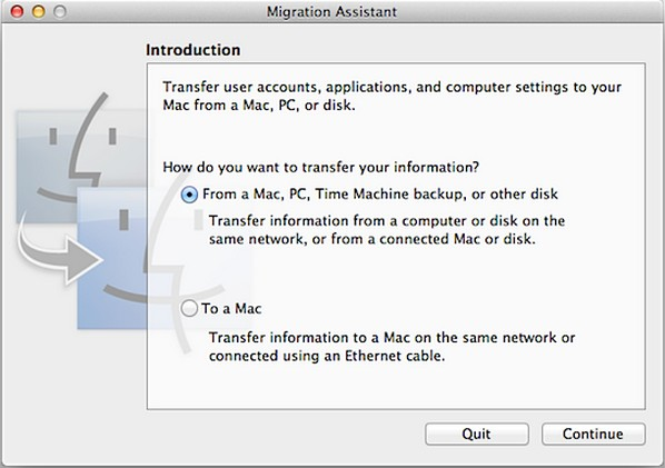 migrate from windows pc to mac