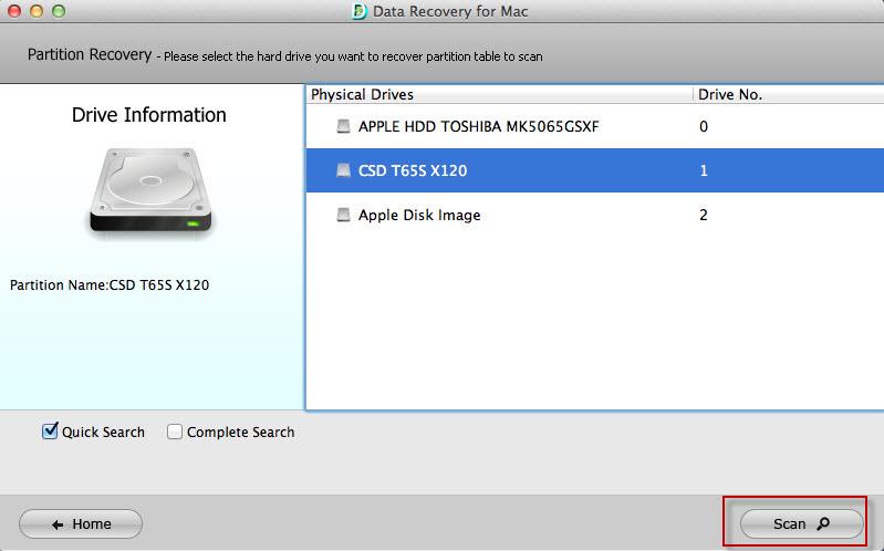 retrieve files mac