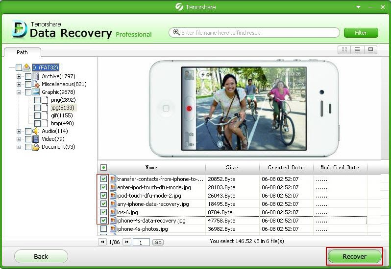 recover deleted partition