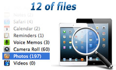 recover data from ipad