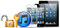 Unlock iPhone, iPad and iPod Backup