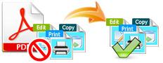 Remove PDF Restriction
