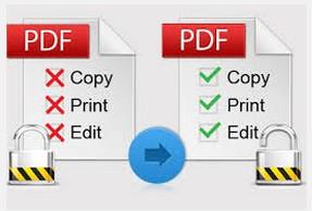 remove pdf password security